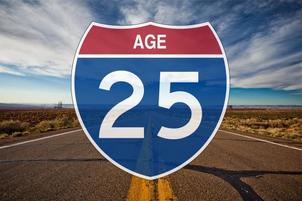 25 года